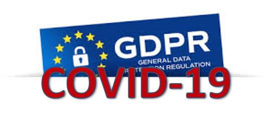 GDPR in COVID-19